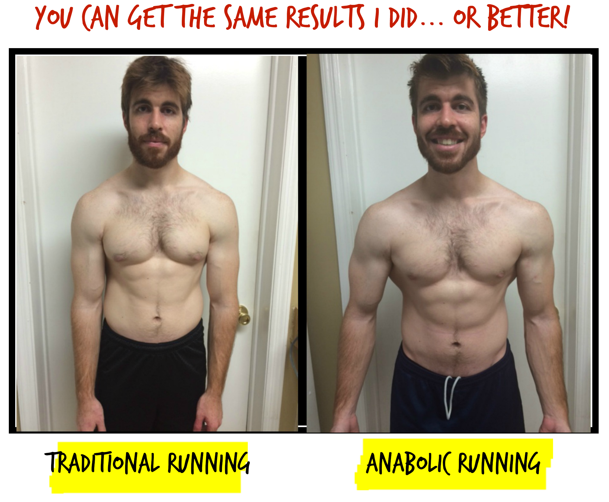Anabolic Running results
