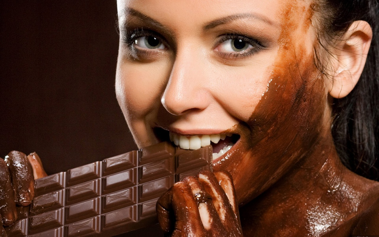 dar chocolate for skin