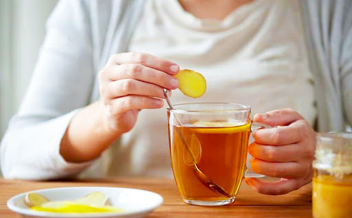 Drink ginger tea